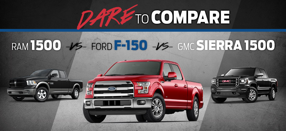Dare To Compare: Ford F-150 in Sauk City, WI