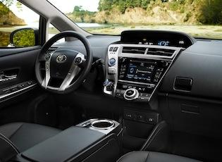 2016 Toyota Prius v cabin