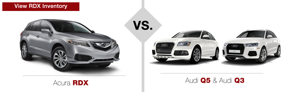 acura vs audi comparison muller 39 s woodfield acura. Black Bedroom Furniture Sets. Home Design Ideas