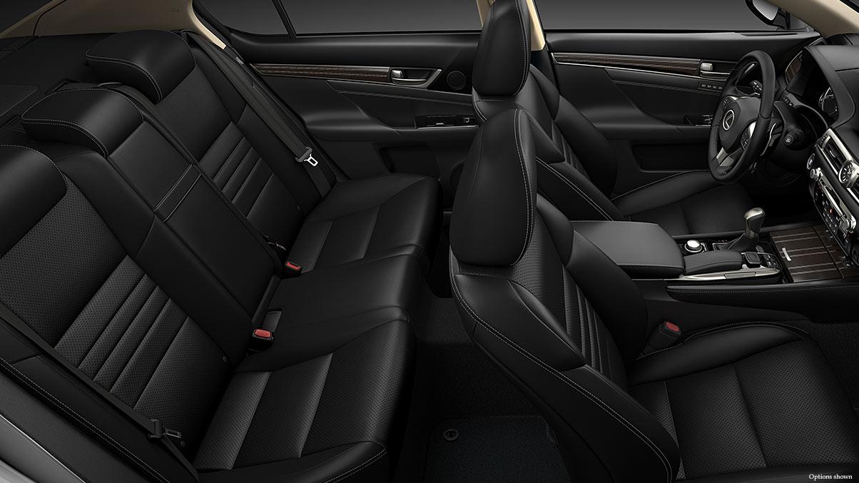 The GS 350 has a Spacious Interior!