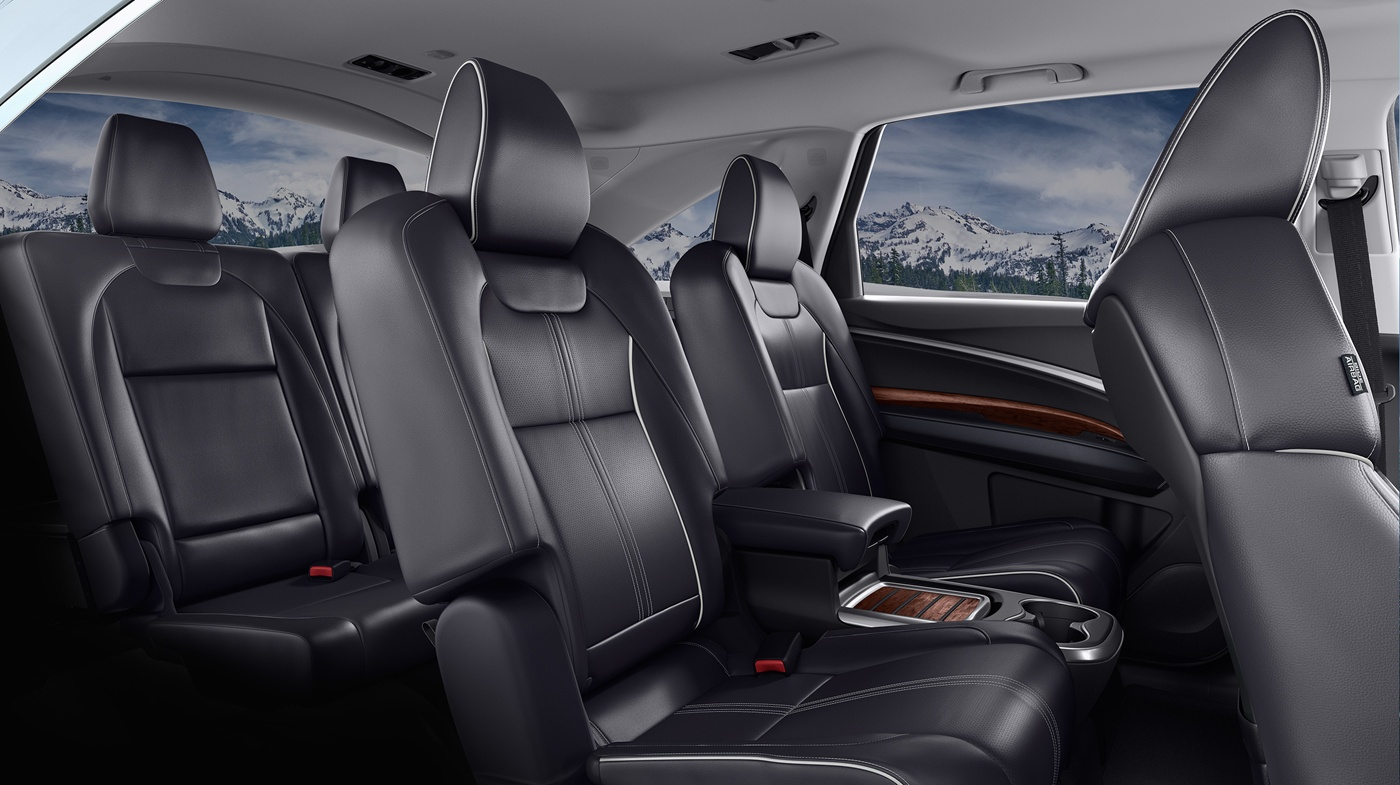 Spacious and Stylish, the 2017 MDX Offers Plenty of Room for the Whole Family!