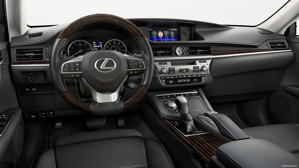 The Well-Equipped Interior of the 2017 ES 350!