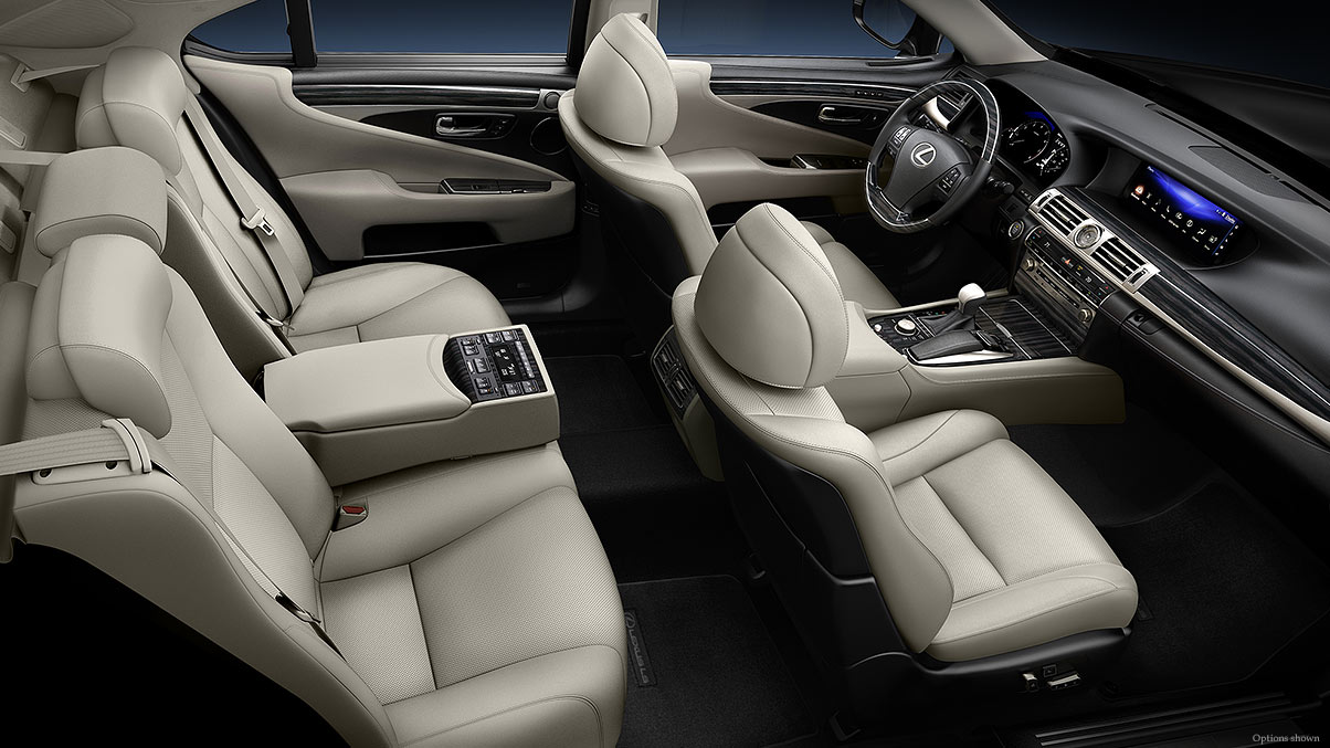 Roomy and Well-Equipped, the Cabin of the LS 460 is an Enjoyable Place to Be!