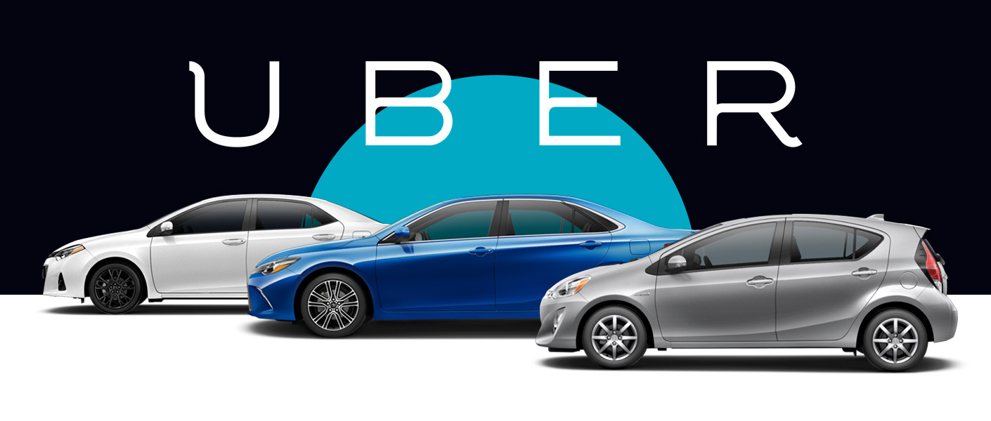 Uber at Anderson Toyota