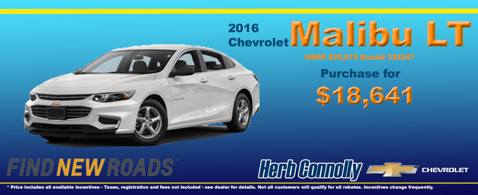 new specials herb connolly chevrolet. Cars Review. Best American Auto & Cars Review