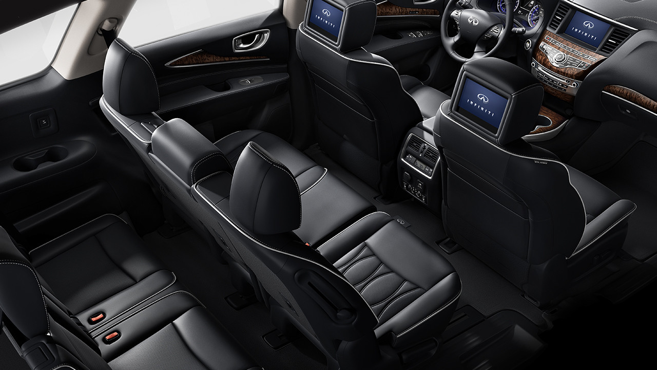 Infiniti qx60 rubber floor mats - The Vehicle Shown Above Top Is The 2017 Infiniti Qx60 Crossover In Hermosa Blue