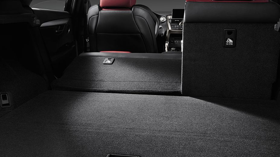 Lexus NX 200t Cargo Space