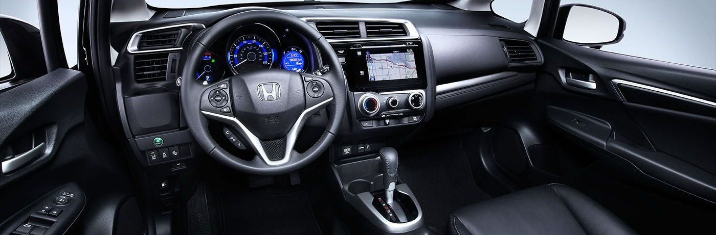 Interior of the 2017 Fit
