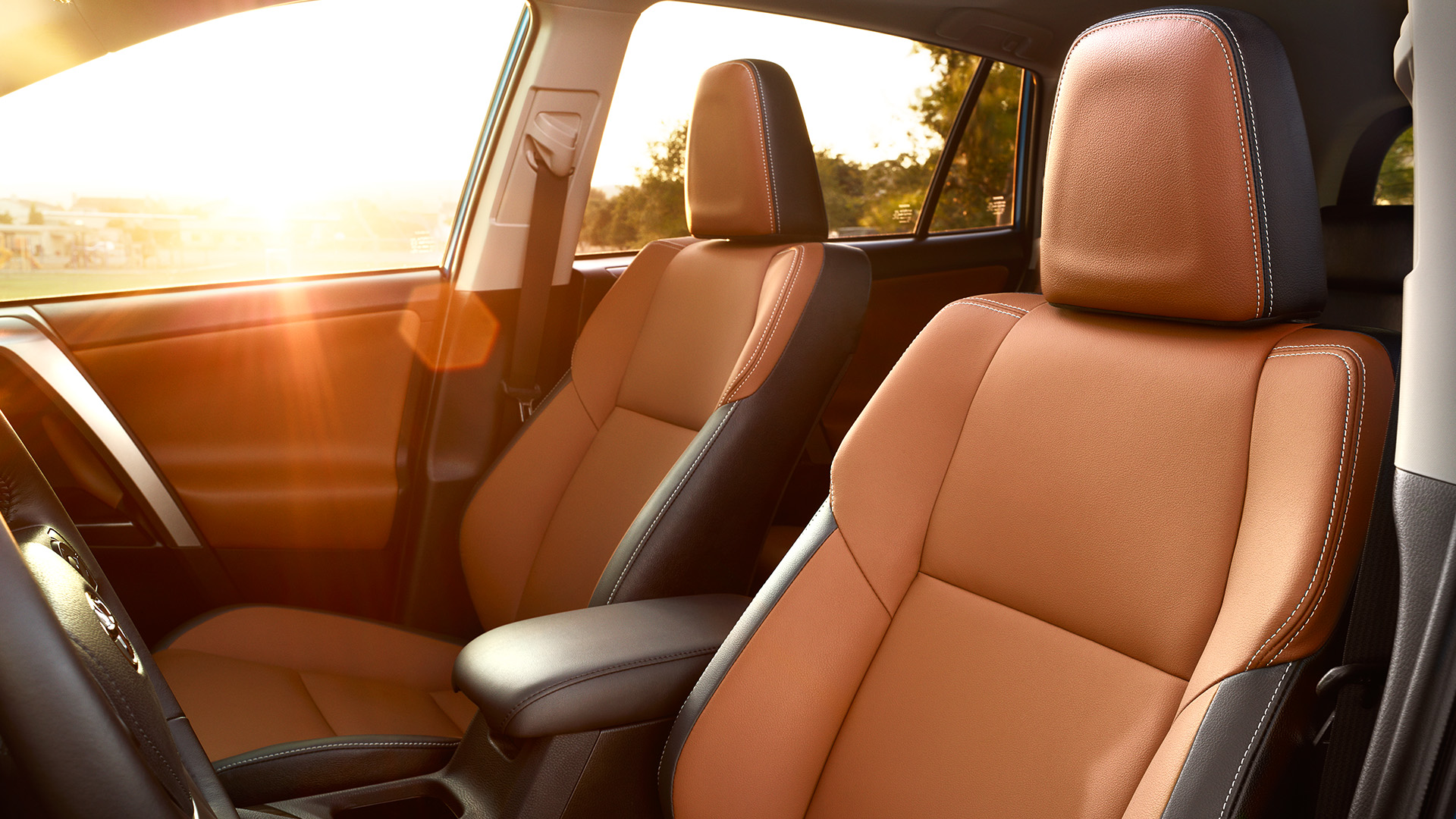Comfortable Seating in the 2017 RAV4