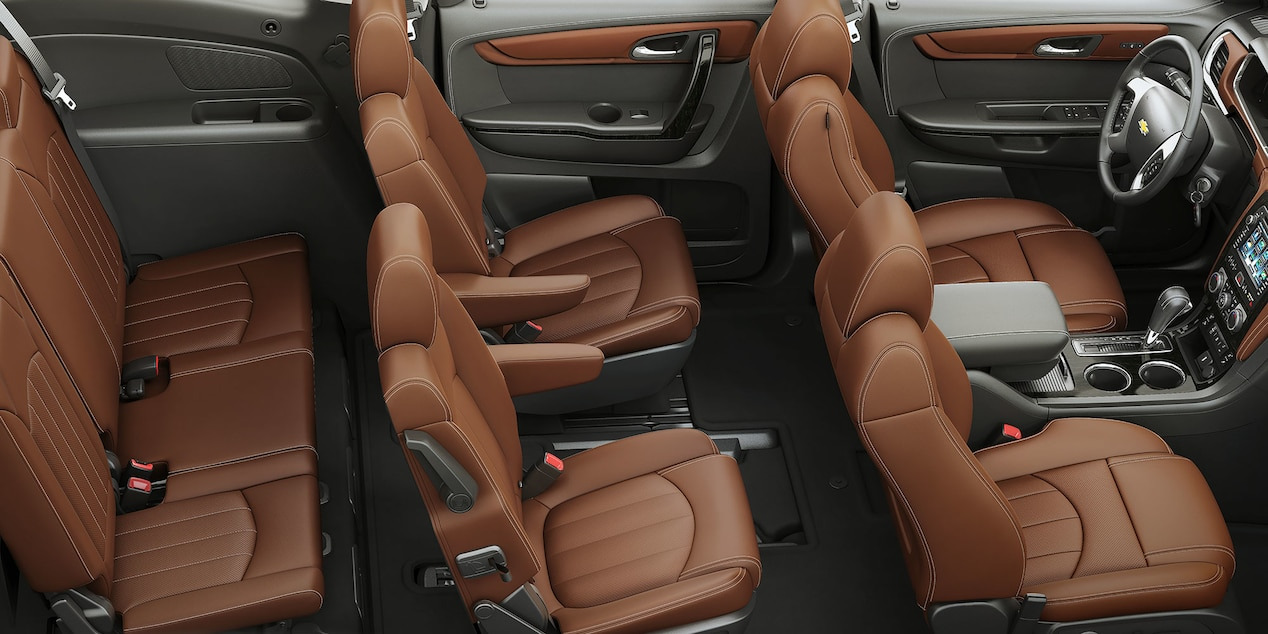 Seating In The 2017 Traverse