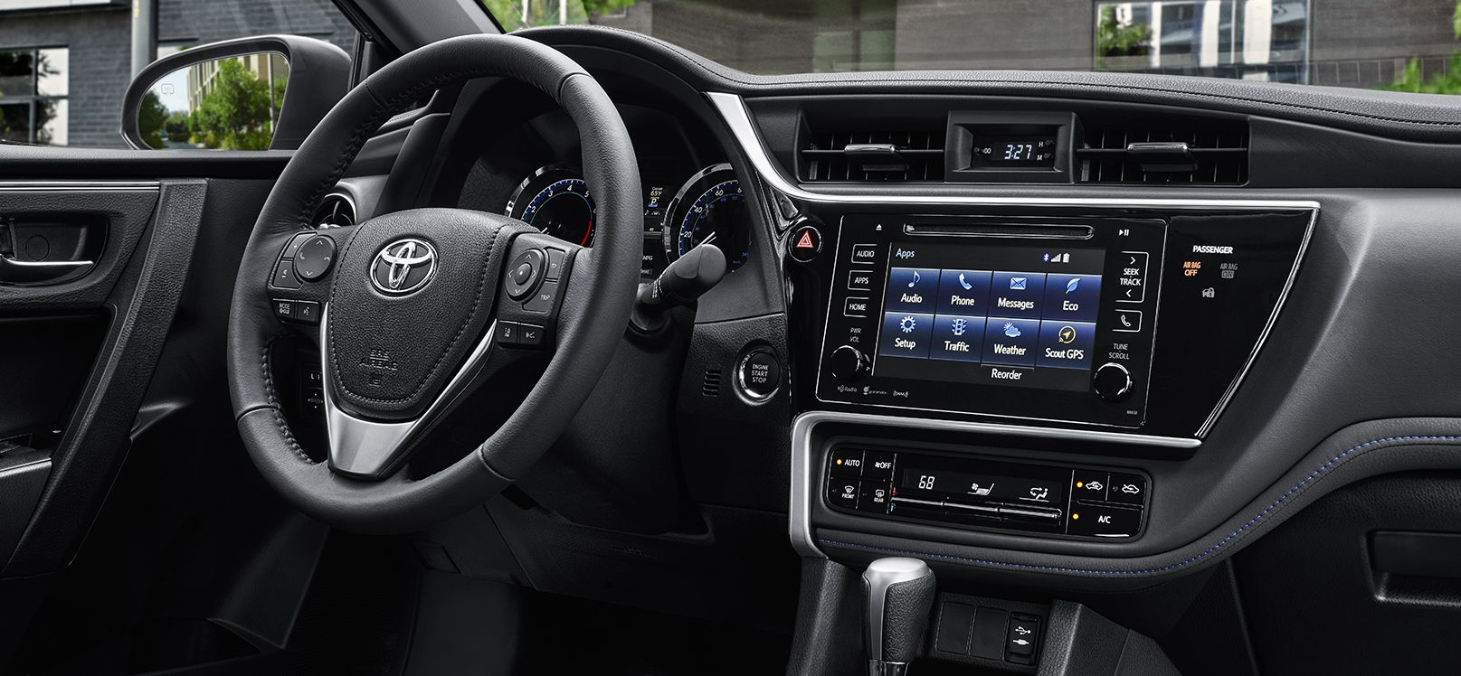 Entertainment System in the 2017 Corolla