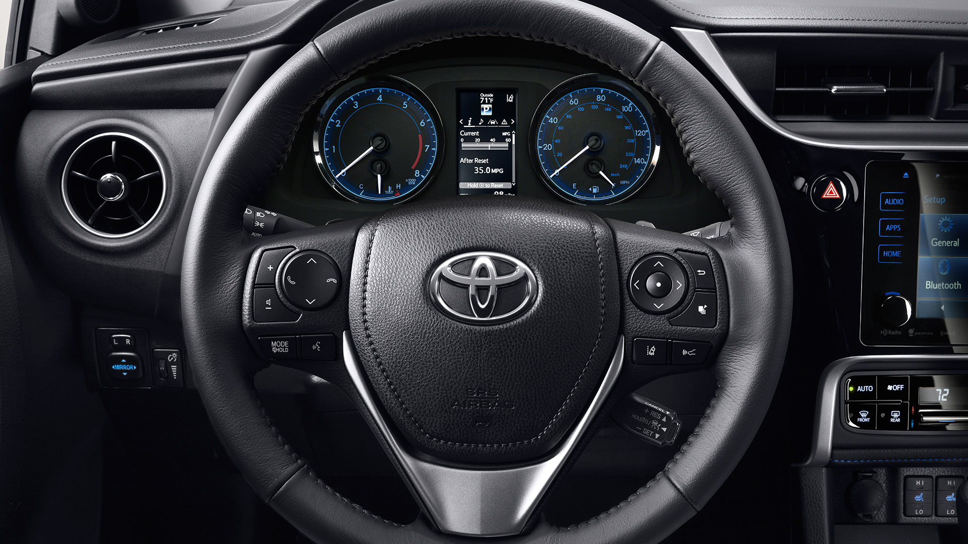 2017 Toyota Corolla with TFT Multi-Information Display