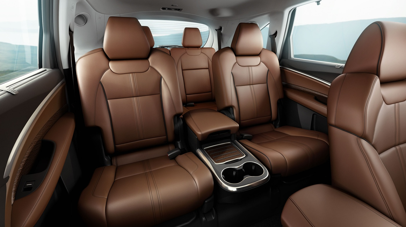 Leather-trimmed Upholstery in the MDX