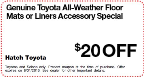 Genuine Toyota All-Weather Floor Mats_Liners Accessory Special :  :  :