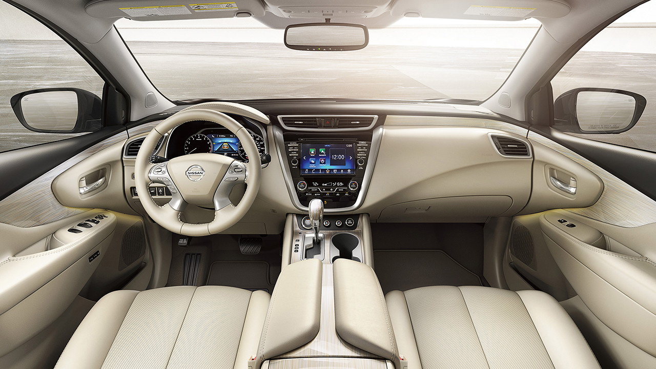 Equip Your Nissan Interior with the AroundView Monitor®