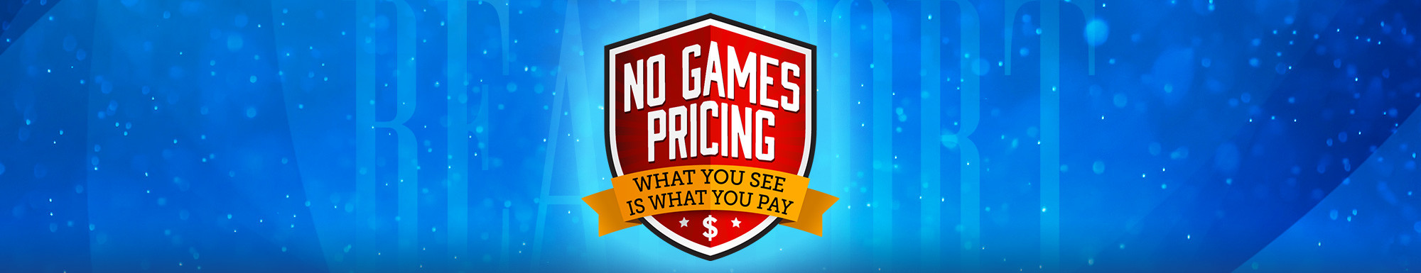 No Games Pricing in Beaufort